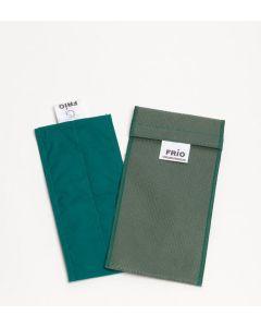 Frio-Kühltasche doppel 8 x 18 cm grün
