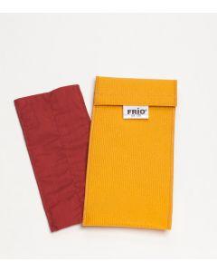 Frio-Kühltasche doppel 8 x 18 cm gelb
