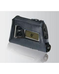 Leder-Schutzhülle mit Lasche schwarz 1 Stück für Accu-Chek Spirit / Spirit Combo