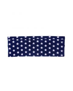 Bauchband mit 2 Taschen Sterne blau