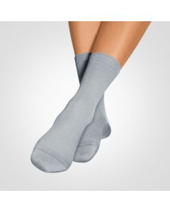 Bort SoftSocks normal silbergrau Größe 35-37