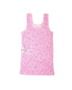breparat Trägerhemd mit Pumpentasche rosa