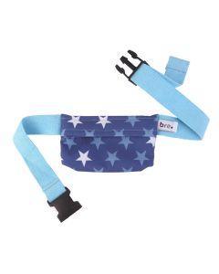 Pumpentasche Sterne Blau 50-65 cm