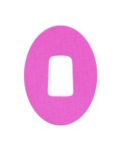 Dexcom Fixtapes oval mit Loch pink