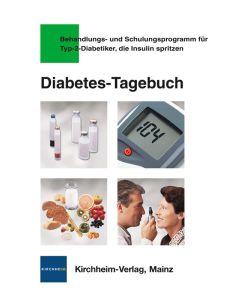 Kirchheim Diabetes-Tagebuch für Typ-2-Diabetiker mit Insulin