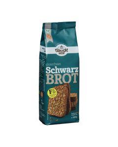 Schwarzbrot Brotbackmischung, glutenfrei