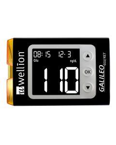 Wellion Galileo GLU/KET Set mmol/L schwarz
