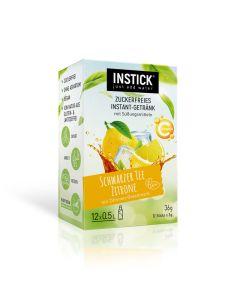 InStick Schwarzer Tee Zitrone 12 x 3g
