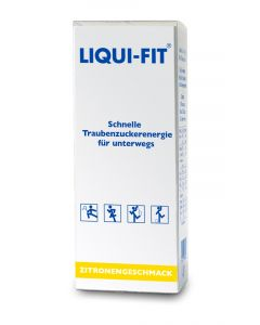 Liqui-Fit flüssige Traubenzuckerenergie Lemon