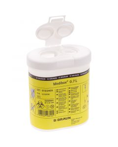 Kanülensammler 0.7 L von Medibox: Diabetikerbedarf.
