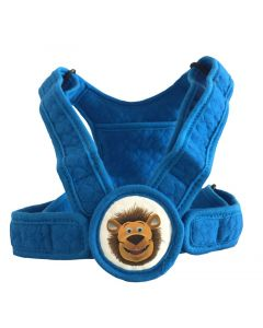 Lenny Rückengurt für Kinder blau