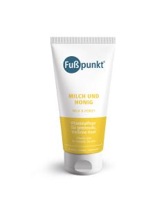 Fußpunkt Milch und Honig für gestresste Haut