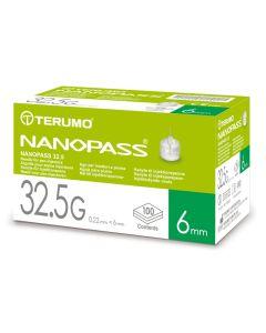 Nanopass Kanüle 32.5 G x 6 mm 100 Stück