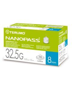Nanopass Kanüle 32.5 G x 8 mm 100 Stück