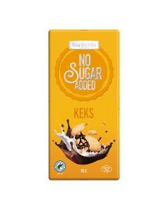 Schokolade und Keks No Sugar Added