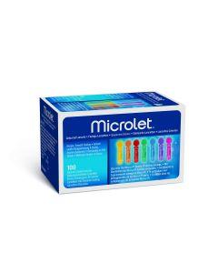 Microlet Lanzetten bunt 100 Stück