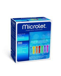 Microlet Lanzetten bunt 200 Stück