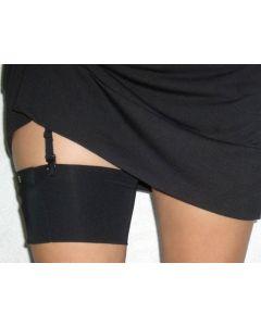Trageband für Oberschenkel schwarz, Größe S 1 Stück