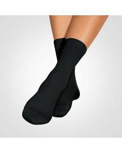 Bort SoftSocks silber Spezialsocken schwarz Größe 35-37