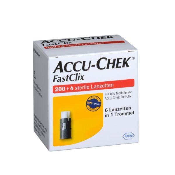 Accu-Chek FastClix Lanzetten 204 Stück