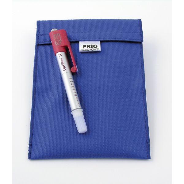 Frio-Kühltasche groß 14 x 19 cm blau