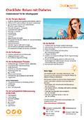 Checkliste: Reisen mit Diabetes