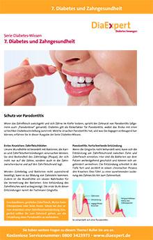 7. Diabetes und Zahngesundheit