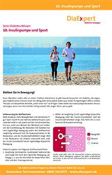 10. Insulinpumpe und Sport