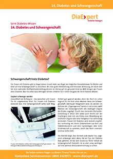 14. Diabetes und Schwangerschaft