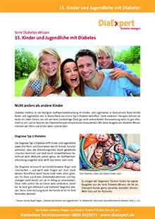 15. Kinder und Jugendliche mit Diabetes