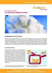 21. Basiswissen Diabetes mellitus