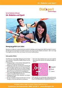 24. Diabetes und Sport