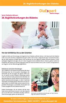 28. Begleiterkrankungen des Diabetes