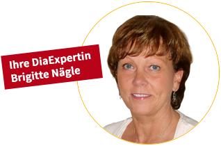 Ihre DiaExpertin Brigitte Nägle