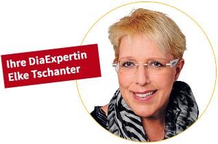 Ihre DiaExpertin Elke Tschanter