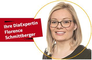 Ihre DiaExpertin Florence Schmittberger