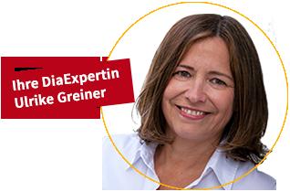 Ihre DiaExpertin Ulrike Greiner