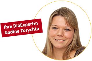 Ihre DiaExpertin Nadine Zorychta