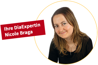 Ihre DiaExpertin Nicole Braga