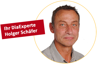 Ihr DiaExperte Holger Schäfer