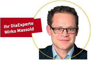 Ihr DiaExperte Mirko Massold