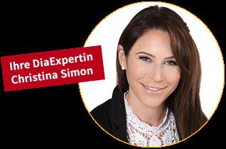 Ihre DiaExpertin Christina Simon
