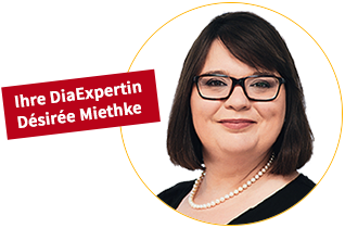 Ihre DiaExpertin Désirée Miethke