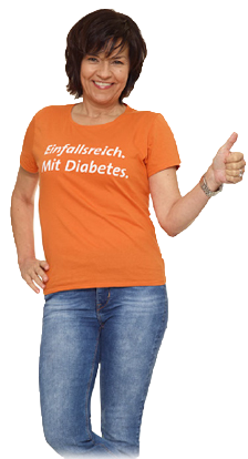 Einfallsreich mit Diabetes