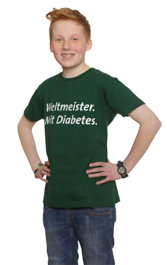 Weltmeister. Mit Diabetes.