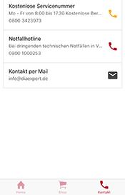 Kontakt zu DiaExpert