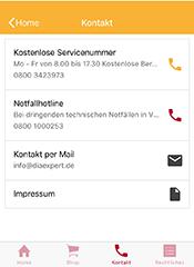 Diaexpert Smartphone App